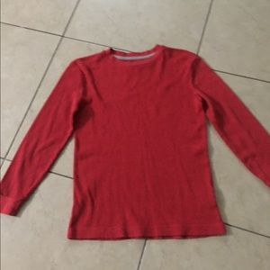 Men's large old navy long sleeve t shirt red